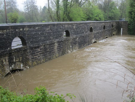 Brue flood