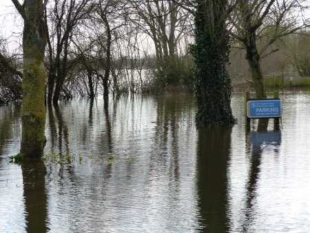 Langport flood